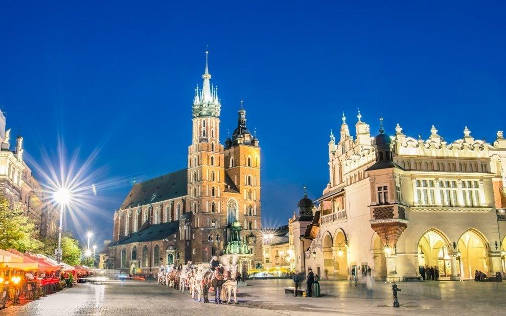 Krakov - hlavní náměstí