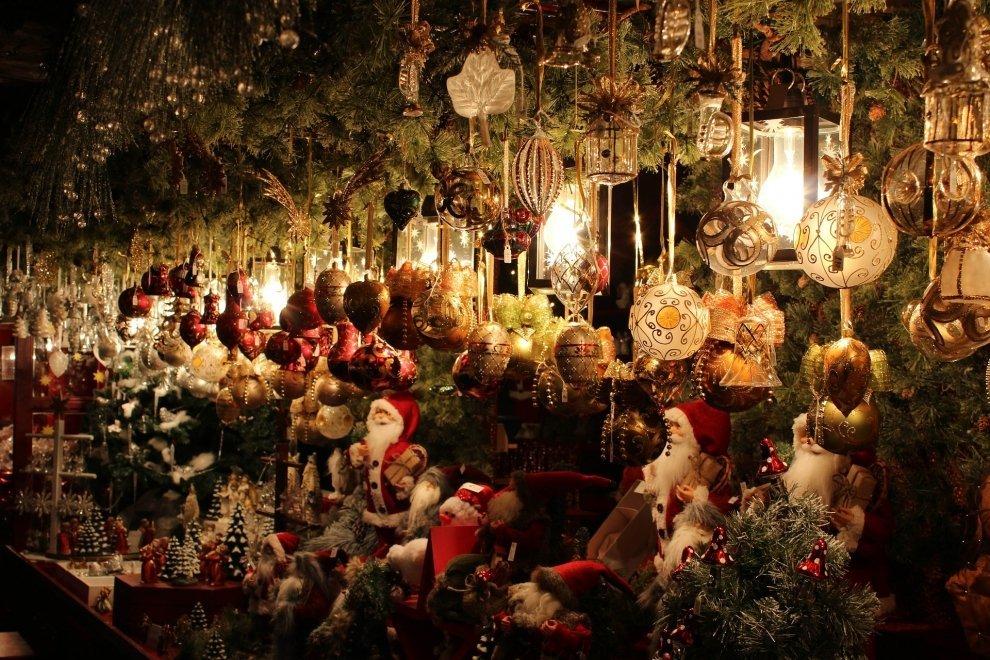 Vánoční trhy stánek