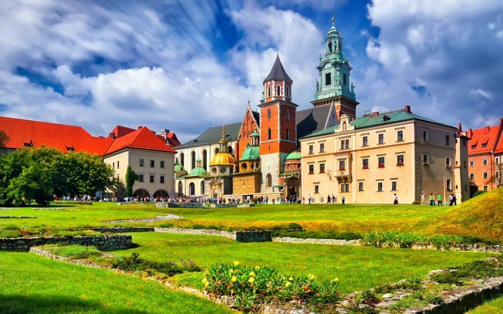 Krakov -hrad Wawel