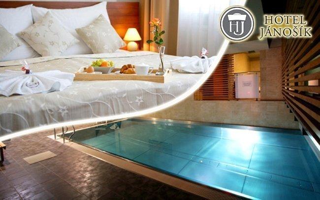 Hotel Jánošík **** oceněný jako Hoteliér roku s wellness a polopenzí
