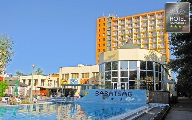 Lázně Hajdúszoboszló v hotelu s plnou penzí a wellness s termální vodou