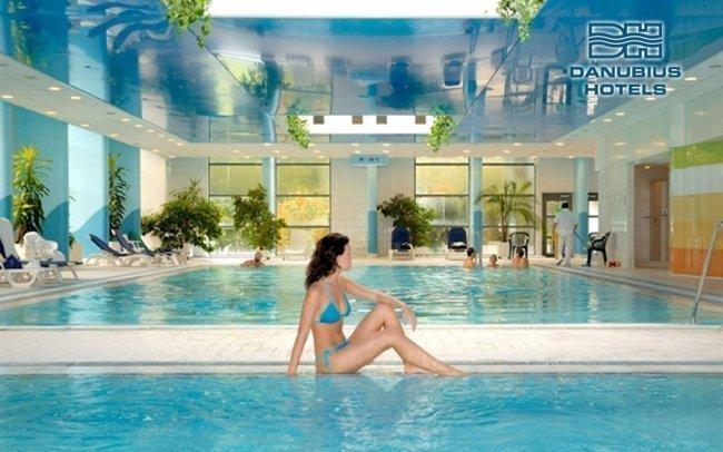 Budapešť ve 4* hotelu Danubius s neomezeným vstupem do wellness + dítě zdarma