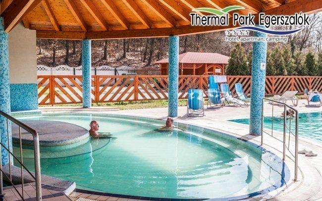 Egerszalók s neomezeným vstupem do wellness s termálními bazény a polopenzí