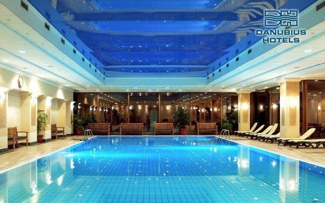 Budapešť luxusně v hotelu Danubius s neomezeným wellness a polopenzí