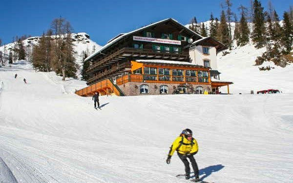 Rakouské Alpy v českém hotelu přímo u sjezdovky + dítě do 15 let zdarma
