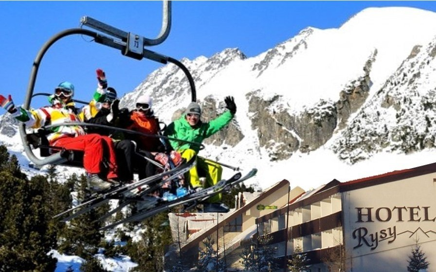 Vysoké Tatry s wellness a polopenzí v hotelu Rysy + dítě do 12 let ZDARMA