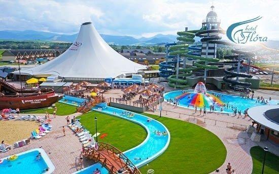 Bešeňová se slevou na vstup do termálního aquaparku GINO Paradise a polopenzí