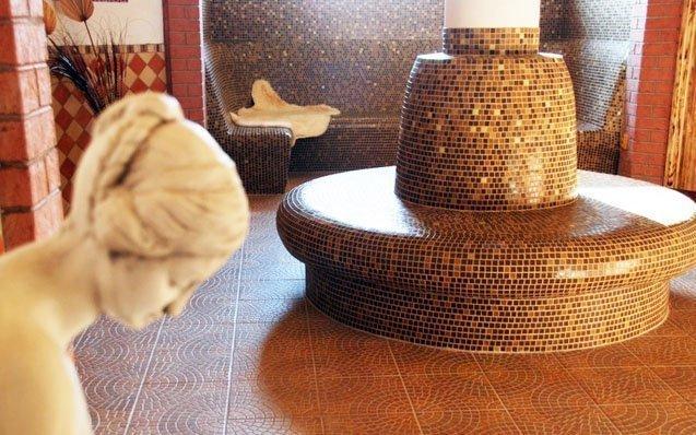 Podhájská v pokojích s kuchyňkou a celodenním vstupem do Římských lázní