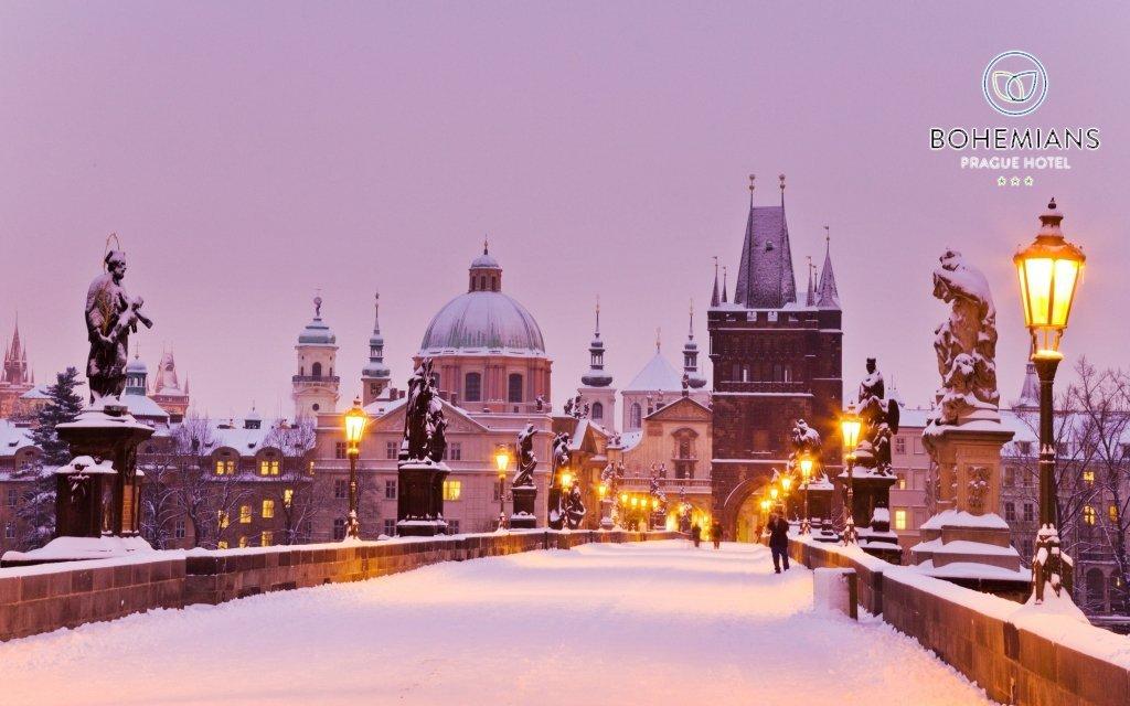 Praha v hotelu Bohemians na břehu Vltavy se snídaní + dítě do 5,9 let zdarma