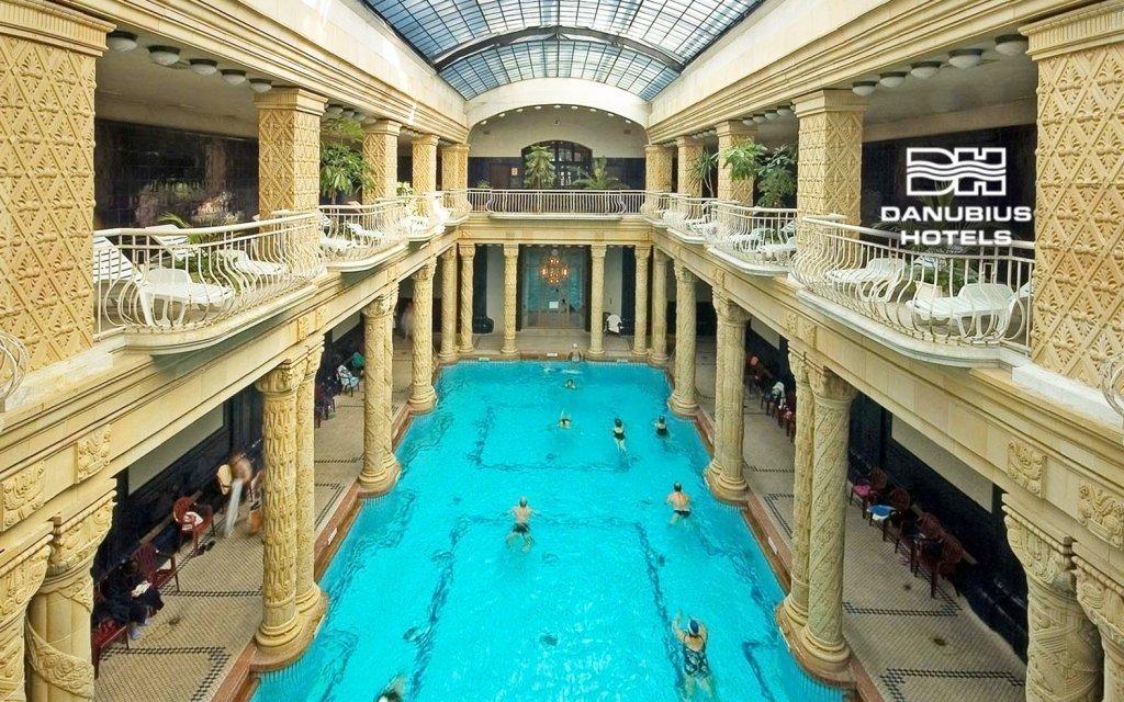 Budapešť luxusně v Danubius Hotelu Gellért **** se vstupenkou do lázní
