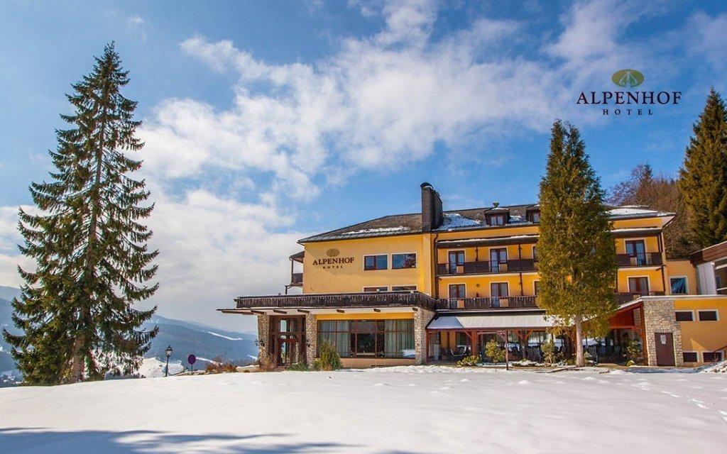 Rakouské Alpy u Semmeringu a Stuhlecku v hotelu Alpenhof s bazénem a polopenzí