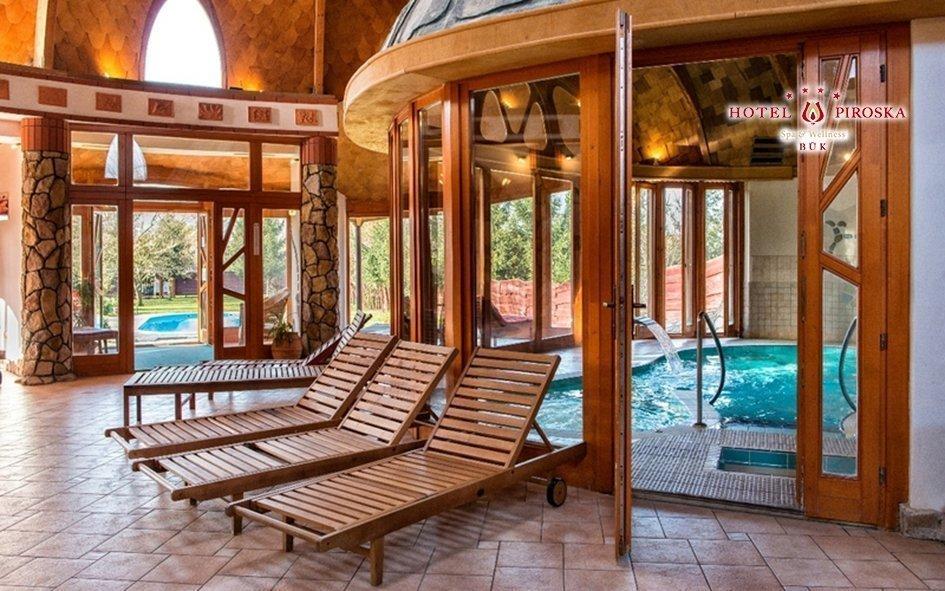 Bük ve 4* hotelu s wellness se saunovým světem, polopenzí i vstupenkou do lázní