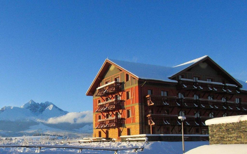 Vysoké Tatry v luxusních 4* apartmánech se slevami do termálů a wellness