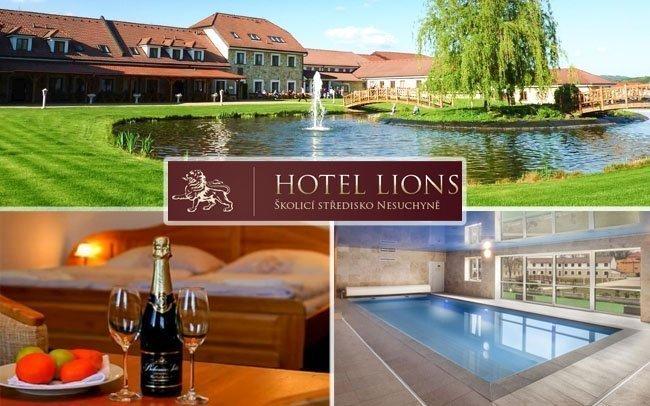 Wellness pobyt v luxusním Hotelu Lions s polopenzí a neomezenými nápoji