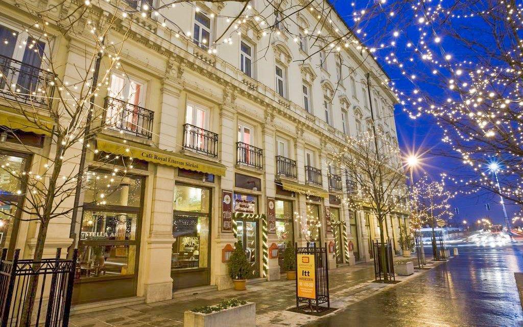 Györ: hotel z luxusní sítě Danubius s polopenzí a termálními lázněmi