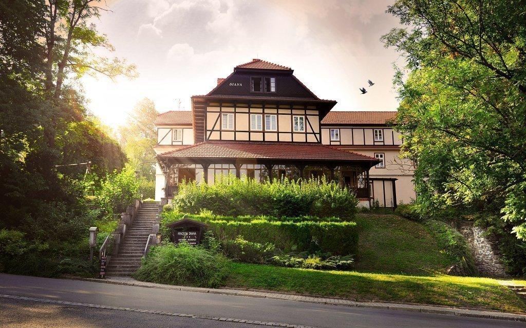 Teplice nad Bečvou v penzionu blízko lázní se snídaní až do konce roku