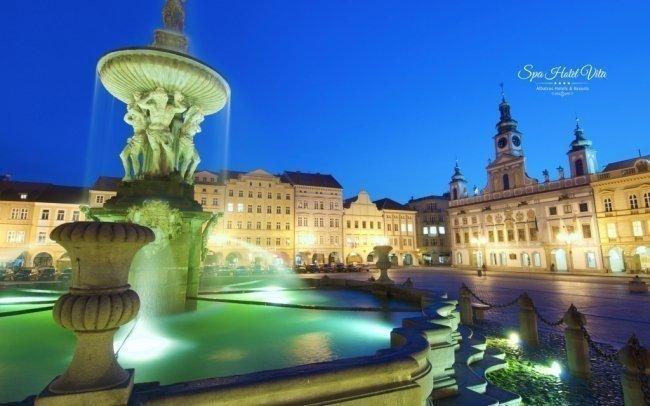 České Budějovice luxusně ve 4* hotelu s tureckými lázněmi, masáží a polopenzí