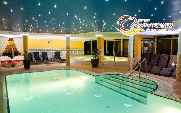 Miskolc luxusně ve 4* hotelu s bohatým wellness, polopenzí a sauna seancí