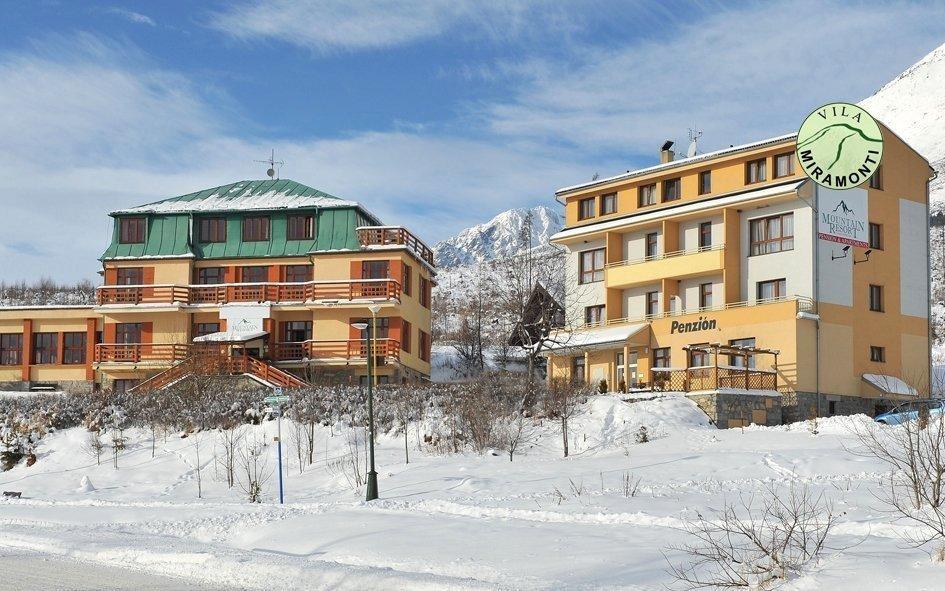 Vysoké Tatry v Miramonti Resortu se saunou, električkou, skibusem a polopenzí