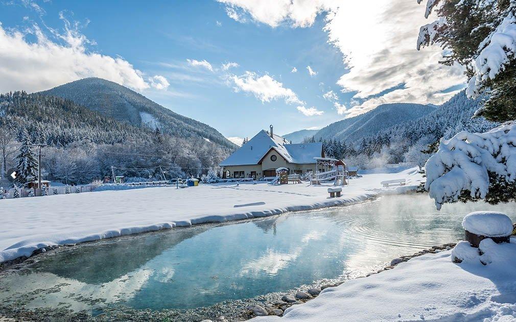Nízké Tatry: dovolená pro celou rodinu se vstupem do termálního bazénu