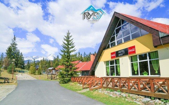 Vysoké Tatry v hotelu Rysy s polopenzí a wellness na jaře i přes léto