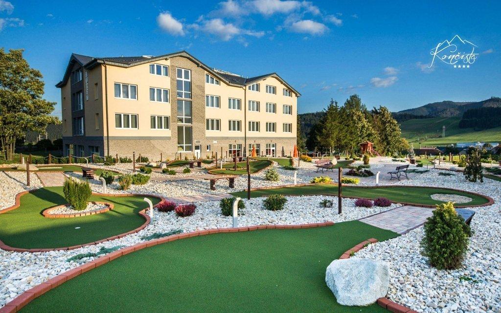 Vysoké Tatry s neomezeným wellness a polopenzí ve 4* hotelu pro dospělé nad 40