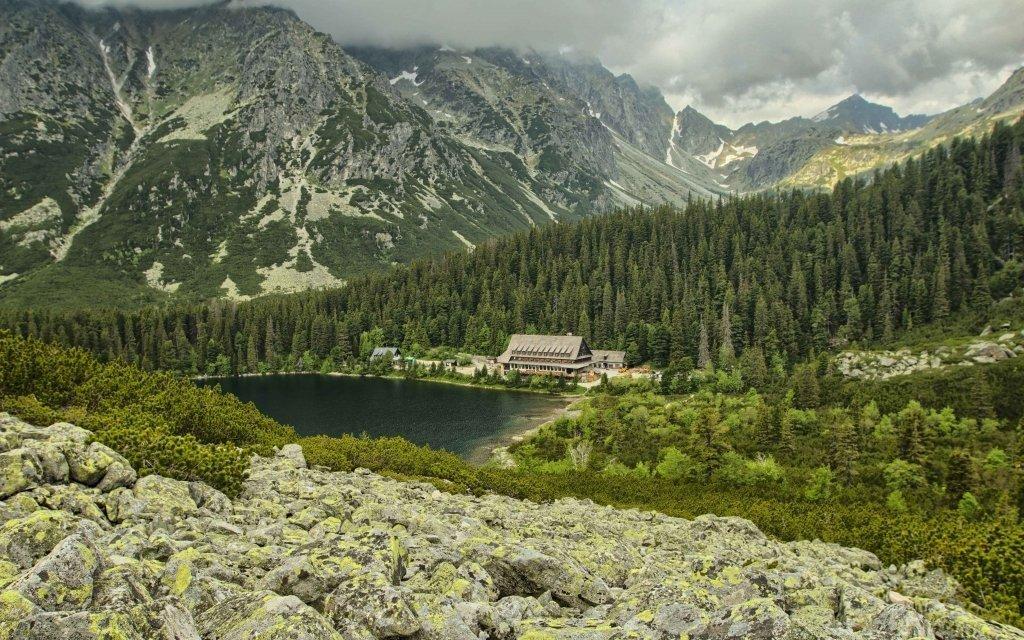 Vysoké Tatry v penzionu s polopenzí a slevou do Aquacity Poprad