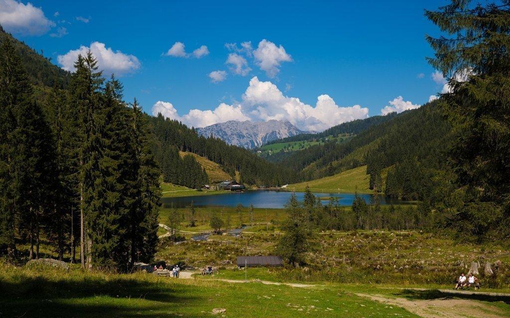 Rakouské Alpy ve slovenském rodinném penzionu se skvělou domácí kuchyní