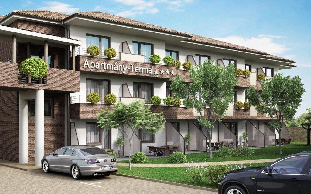 Dunajská Streda ve zbrusu nových apartmánech chodbou propojených s termály