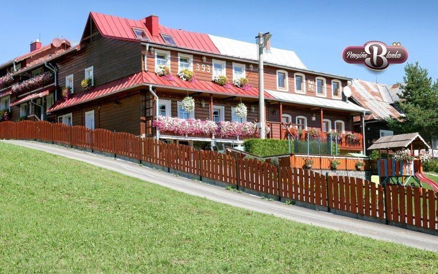 Belianské Tatry v penzionu pro rodiny se snídaní a slevou do wellness centra