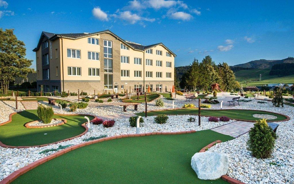 Vysoké Tatry s neomezeným wellness a polopenzí ve 4* hotelu Končistá