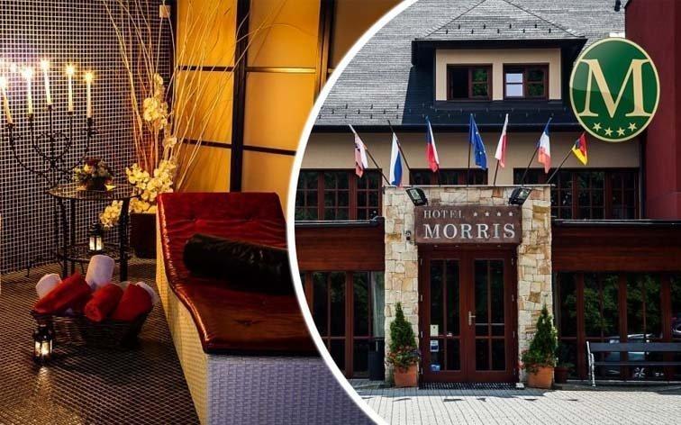 Mariánské Lázně: relaxace v luxusním hotelu Morris s až 18 wellness procedurami