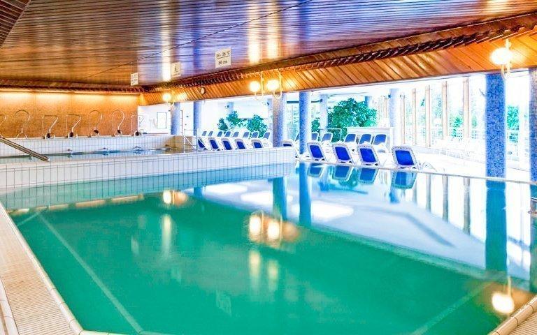 Hévíz v luxusním hotelu Danubius: all inclusive a wellness s termální vodou
