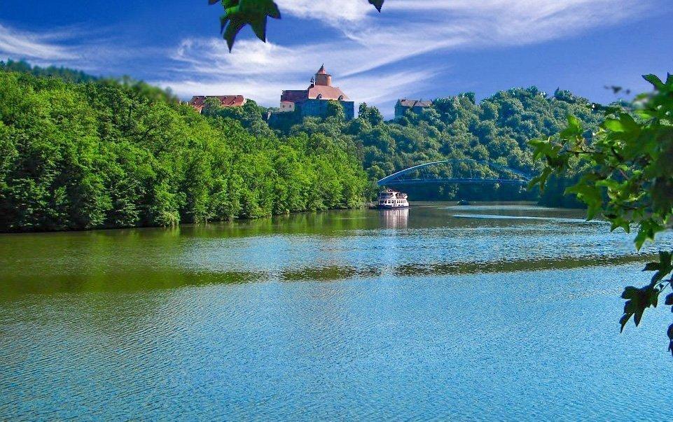 Brno: romantický nebo rodinný pobyt u přehrady s polopenzí a wellness