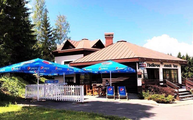 Krkonoše: Harrachov ve 3* hotelu s polopenzí, kávou a dezertem