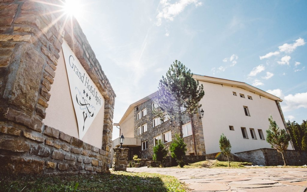 Slovenský ráj: pobyt v Grand hotelu Spiš s polopenzí a slevou do termálů