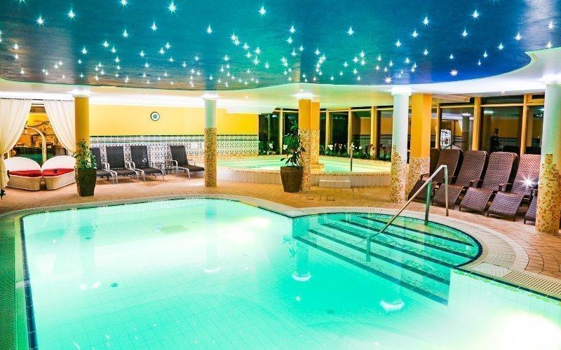 Miskolc v hotelu Calimbra **** s wellness, saunovými seancemi a polopenzí