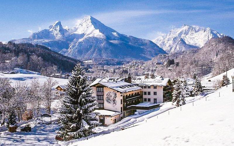 Bavorské Alpy v Alpensporthotelu Seimler *** s polopenzí, bazénem + děti ZDARMA