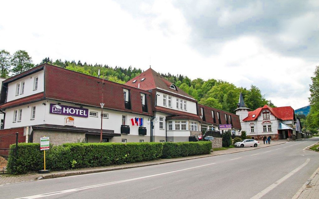 Krkonoše v hotelu Prom *** nedaleko Špindlerova Mlýna s wellness a polopenzí