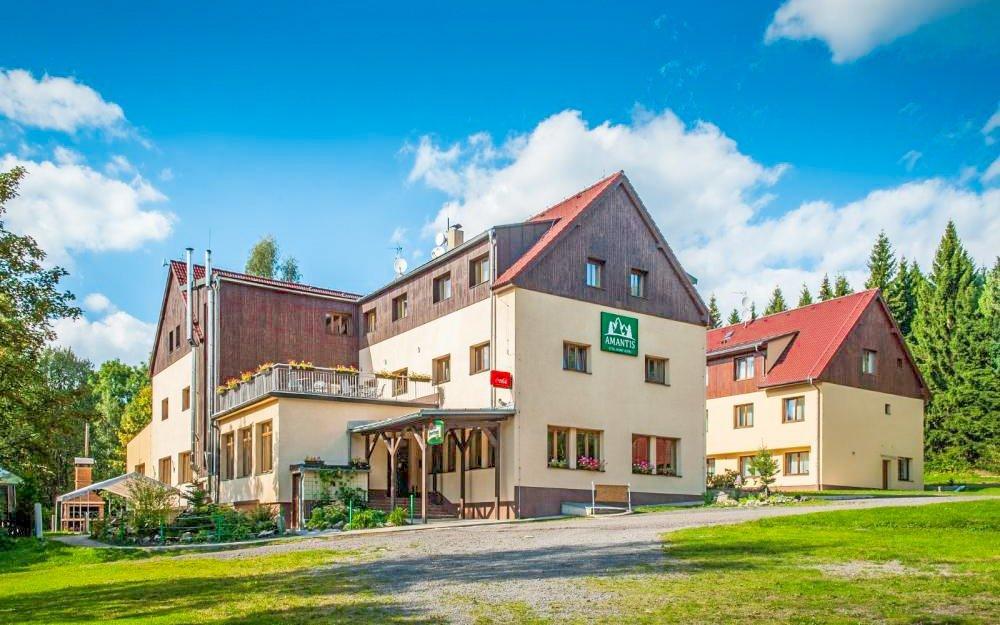 Jizerské hory luxusně s polopenzí a wellness v Amantis Vital Sport Hotelu ***