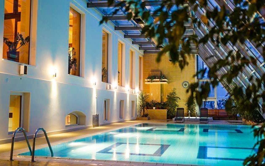 Relax v Maďarsku s neomezeným wellness a polopenzí v Park hotelu Pelikán ****