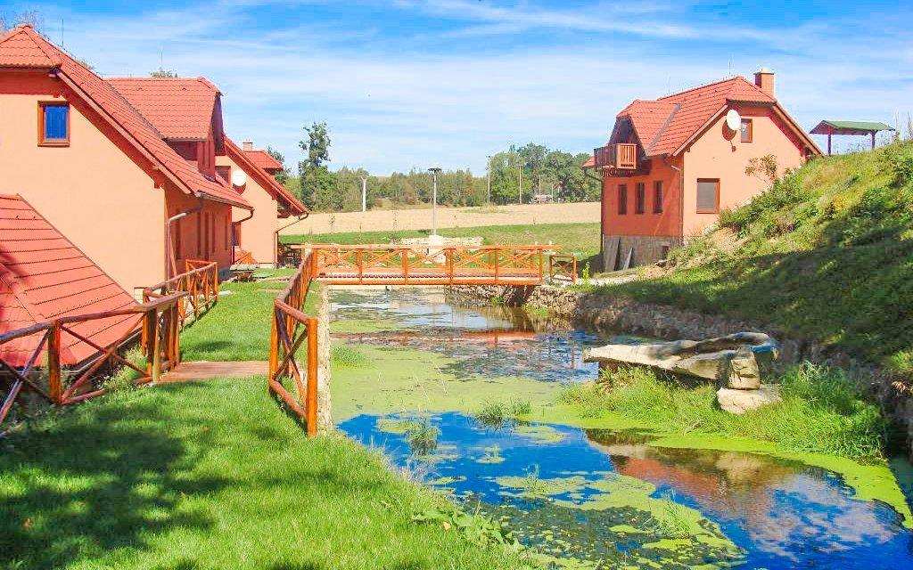 Vysočina: Havlíčkův Brod v rodinném Penzionu Dočkalův Mlýn s polopenzí