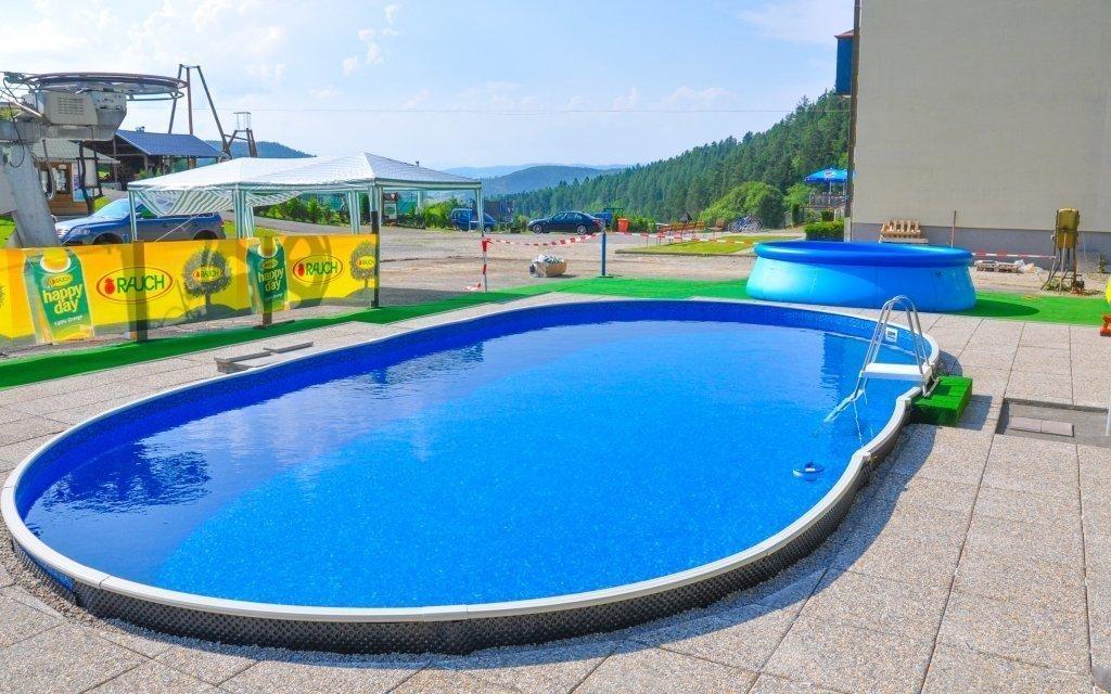 Léto u Slovenského ráje: Hotel Plejsy *** s polopenzí a wellness s bazény