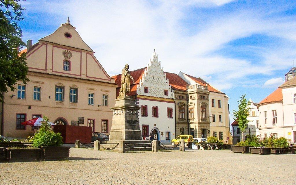 Jižní Čechy v Hotelu Tábor *** v centru se snídaní a slevou do wellness