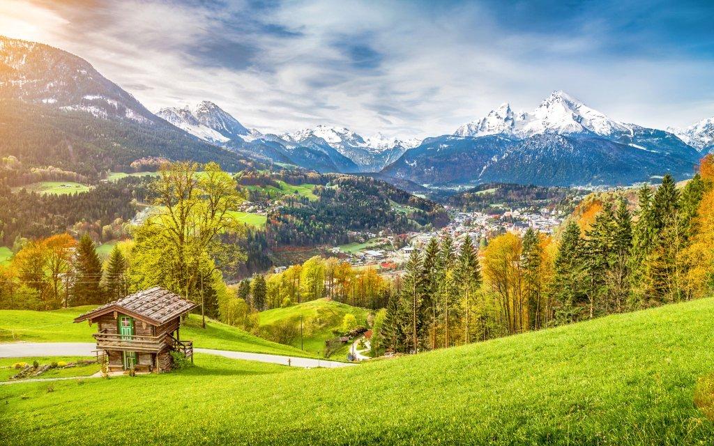 Bavorské Alpy v Hotelu Alpenhof Wallgau *** s neomezeným vstupem do sauny