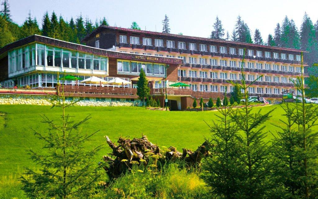 Belianské Tatry v Hotelu Magura s polopenzí, wellness a slevou na koupaliště