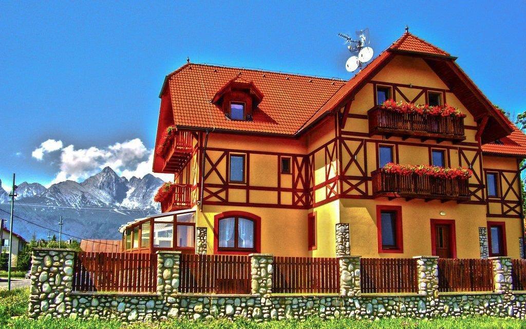 Vysoké Tatry v oblíbeném Penzionu Baďo s wellness, polopenzí a slevami