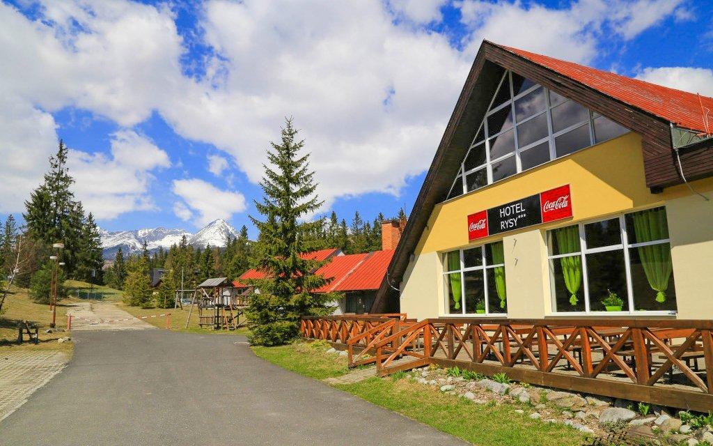 Vysoké Tatry s polopenzí, wellness, tenisem a balíčkem slev v Hotelu Rysy ***