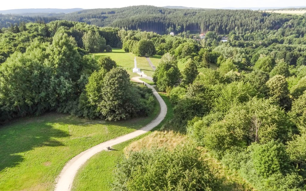 Český les v Rekreačním středisku Rybník s polopenzí, bowlingem a půjčením kol