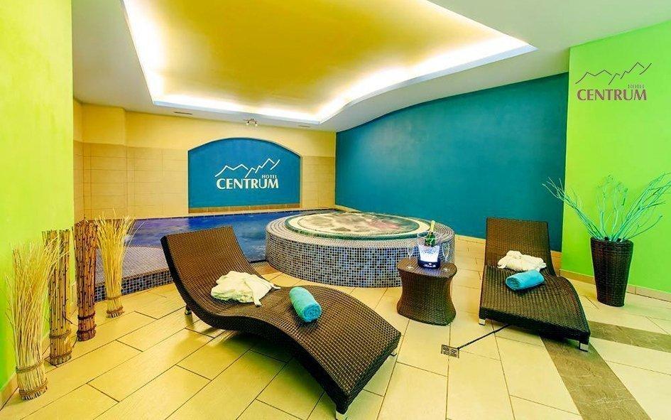 Krkonoše v hotelu Centrum Harrachov *** s polopenzí a wellness procedurami